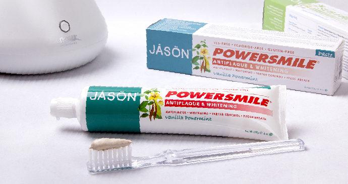 альтернатива отбеливанию зубов - паста Jason Natural