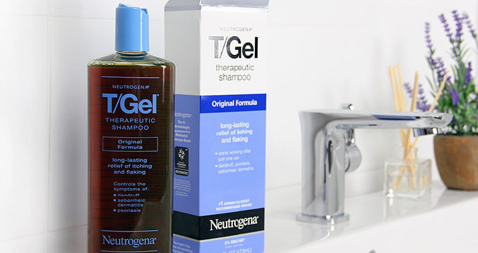 Neutrogena, T/Gel, терапевтический шампунь
