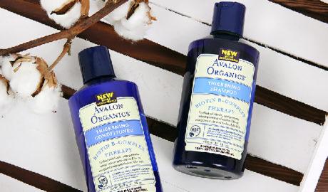 Avalon Organics, шампунь с биотином и кондиционер для волос