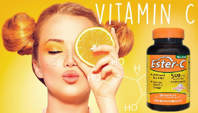 Витамин С в таблетках iherb