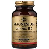 Солгар Магний В6 в таблетках