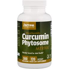 Jarrow Formulas, Фитосома куркумина с Meriva, 500 мг, 120 растительных капсул
