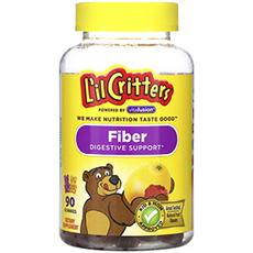 Поддержка пищеварения с помощью клетчатки, с натуральными фруктовыми ароматизаторами, 90жевательных конфет