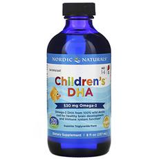 Nordic Naturals, Children's, ДГК для детей, со вкусом клубники, для детей 1–6 лет, 237 мл