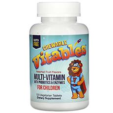Nature's Plus, Source of Life Animal Parade Gold, витамины для детей, ассорти из натуральных вкусов, 120 таблеток в форме животных