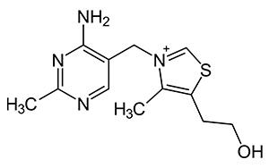 формула тиамина