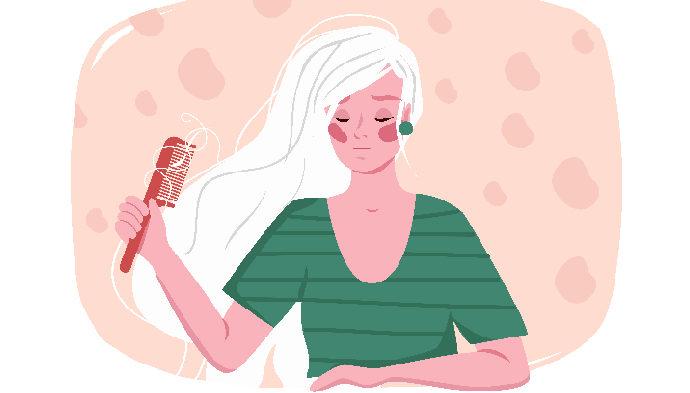 выпадение волос у женщин - причины