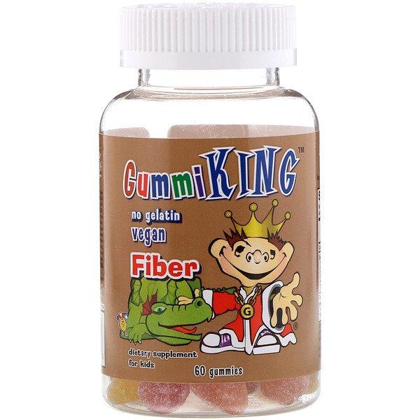 GummiKing, Клетчатка, 60 жевательных конфет